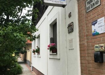 Marika Vendégház utca felől