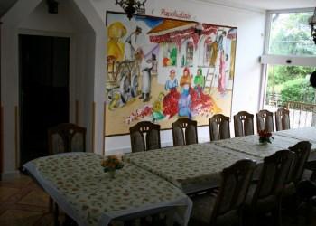 Marika Vendégház Szeged ebédlő