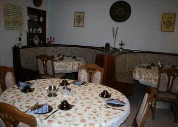 Marika Vendégház közösségi étkező